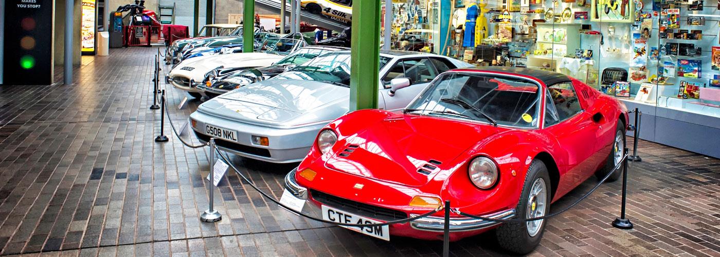 Widgety motor museum