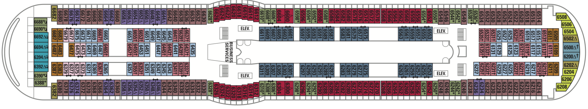 Adventure Of The Seas Deck Plans - The Best Sea Of 2018