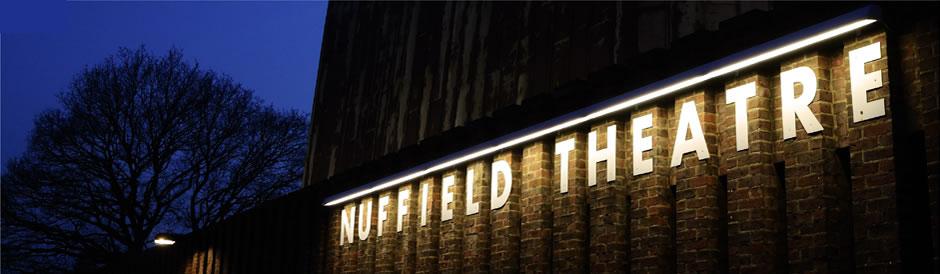 Nuffield theatre cover