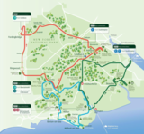 New forest tours tours map
