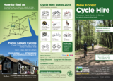 New forest cycle hire 2015 leaflet