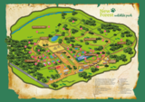 New forest wildlife park site map