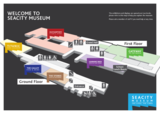 Seacity map of museum
