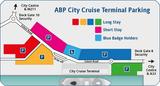 Abparking city cruise terminal parking map
