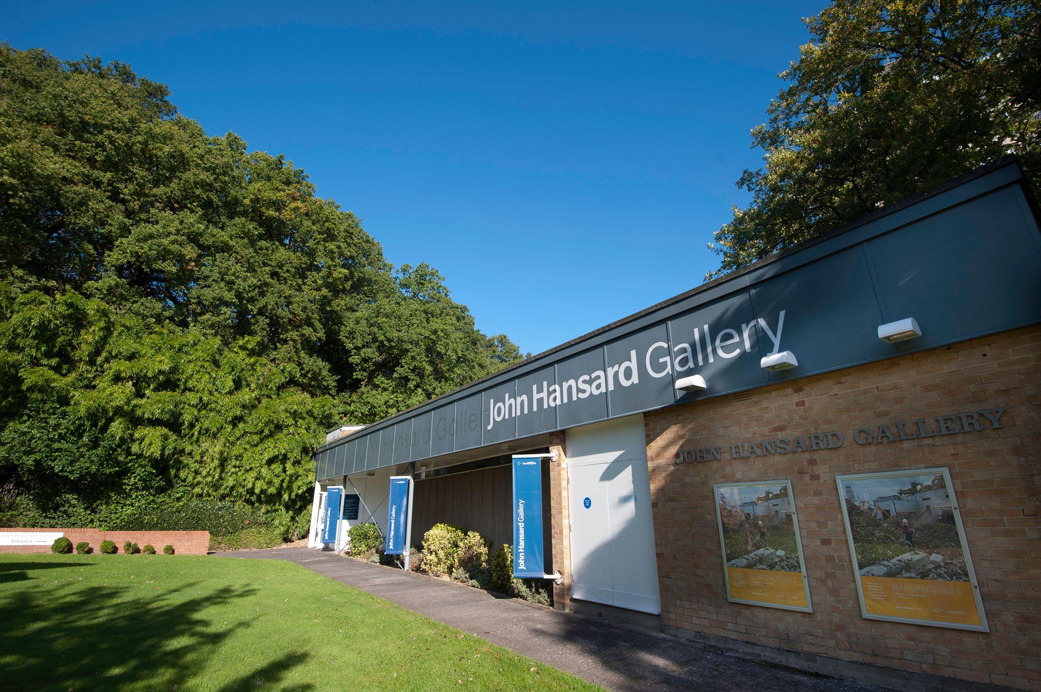 John hansard gallery cover