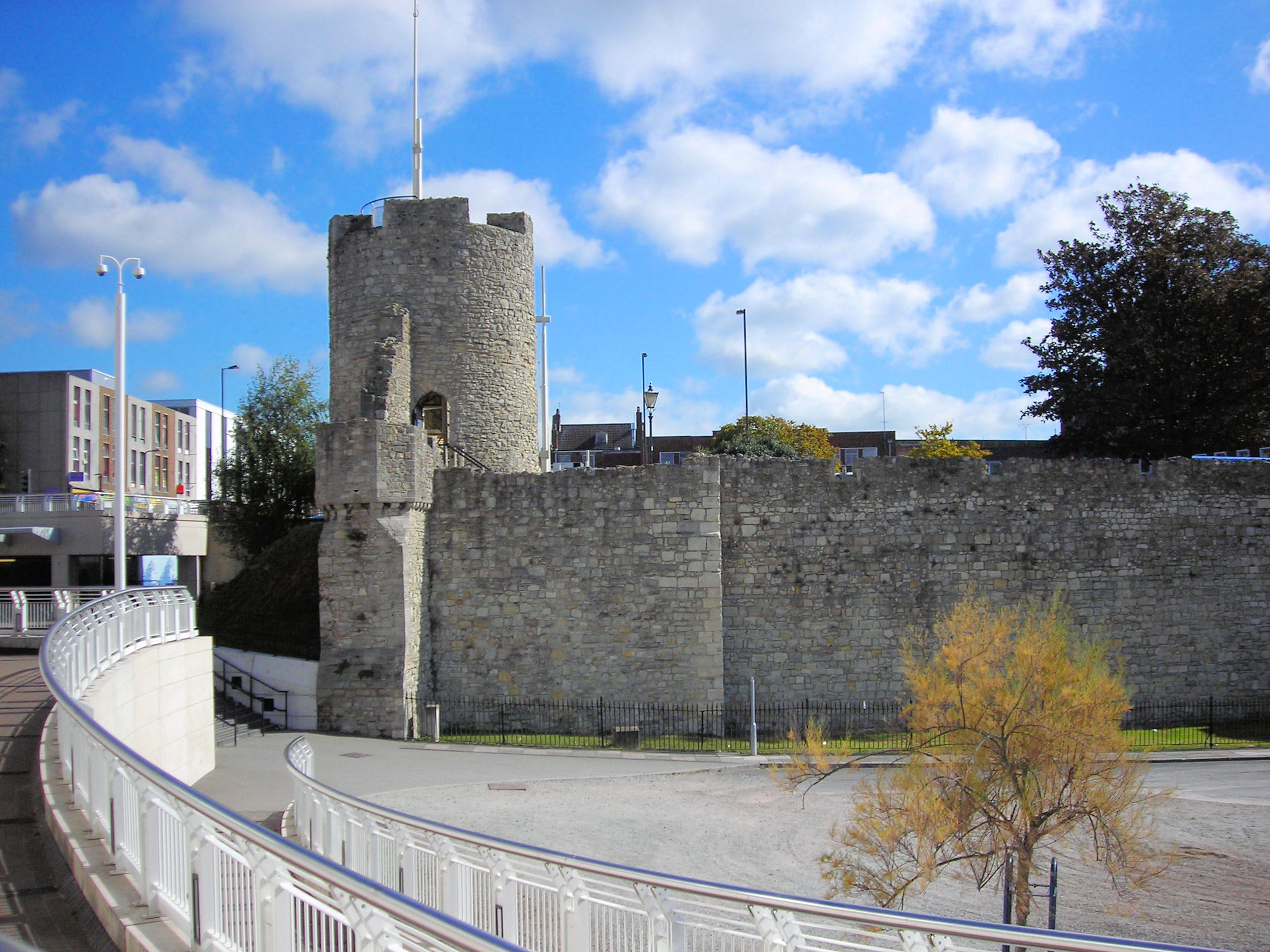The arundel tower   southampton