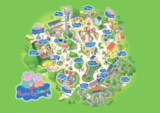 Paultons park peppa pig world map