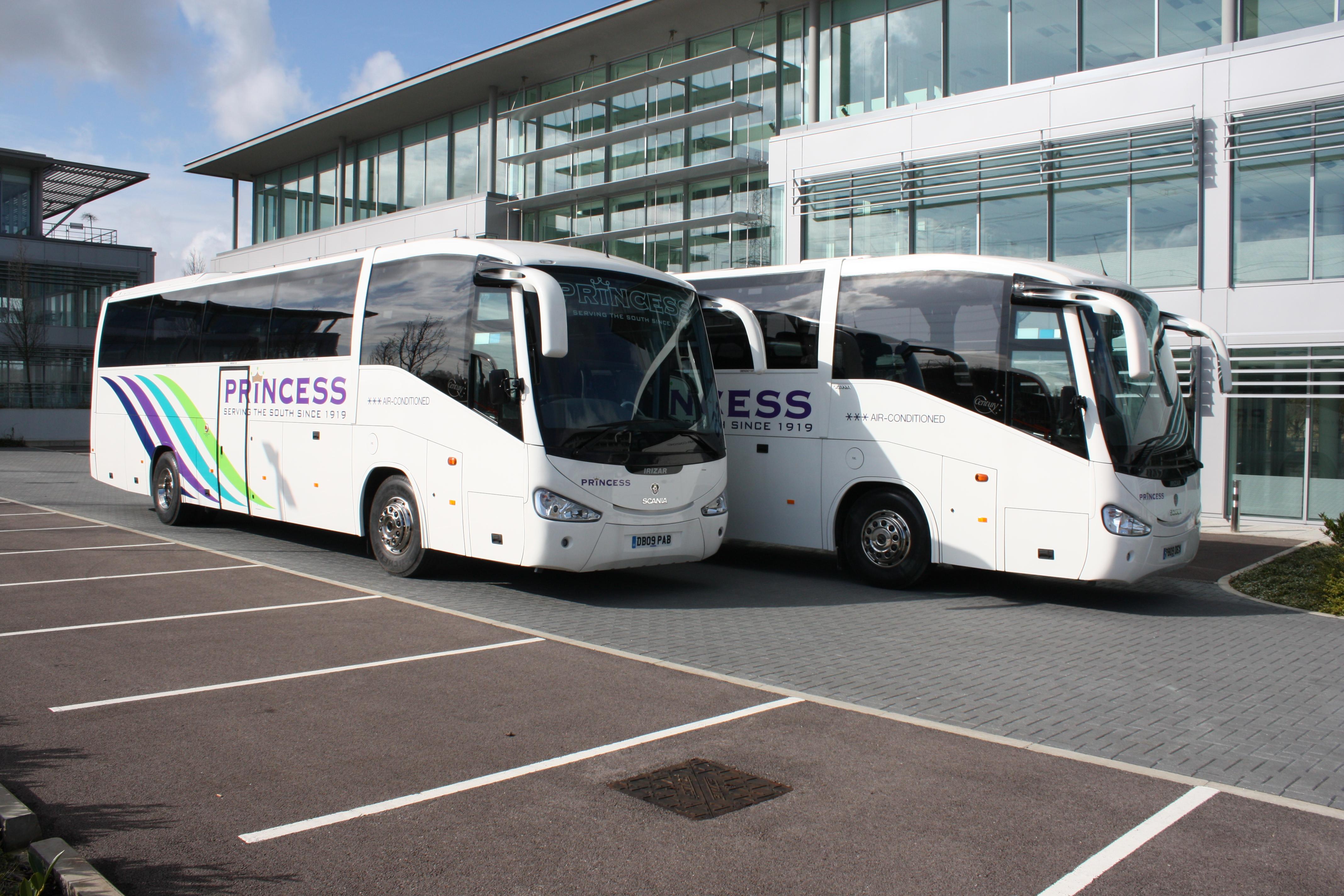 Princess coaches cover
