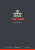 Cunard Line August 2016 To May 2018