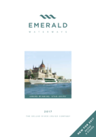 Emerald Waterways 2017 Brochure