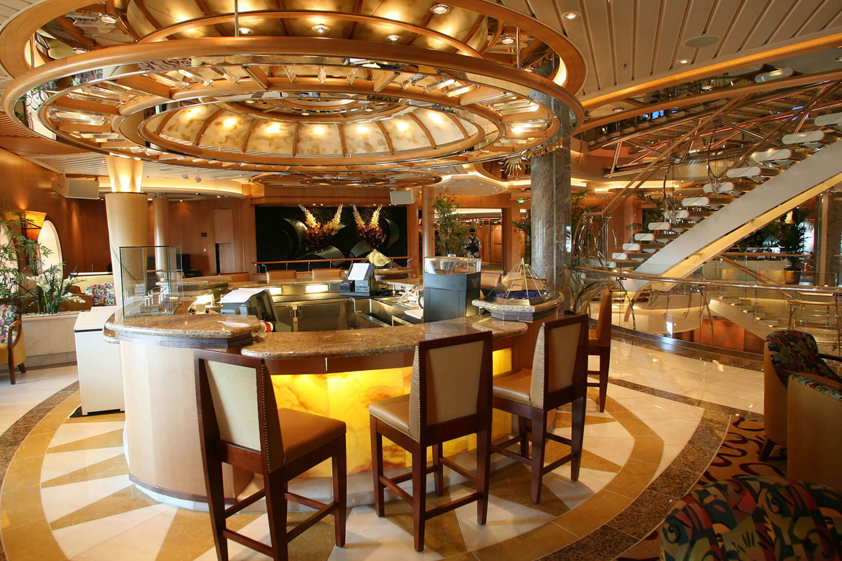 Royal Caribbean Independance Of The Seas Interior New