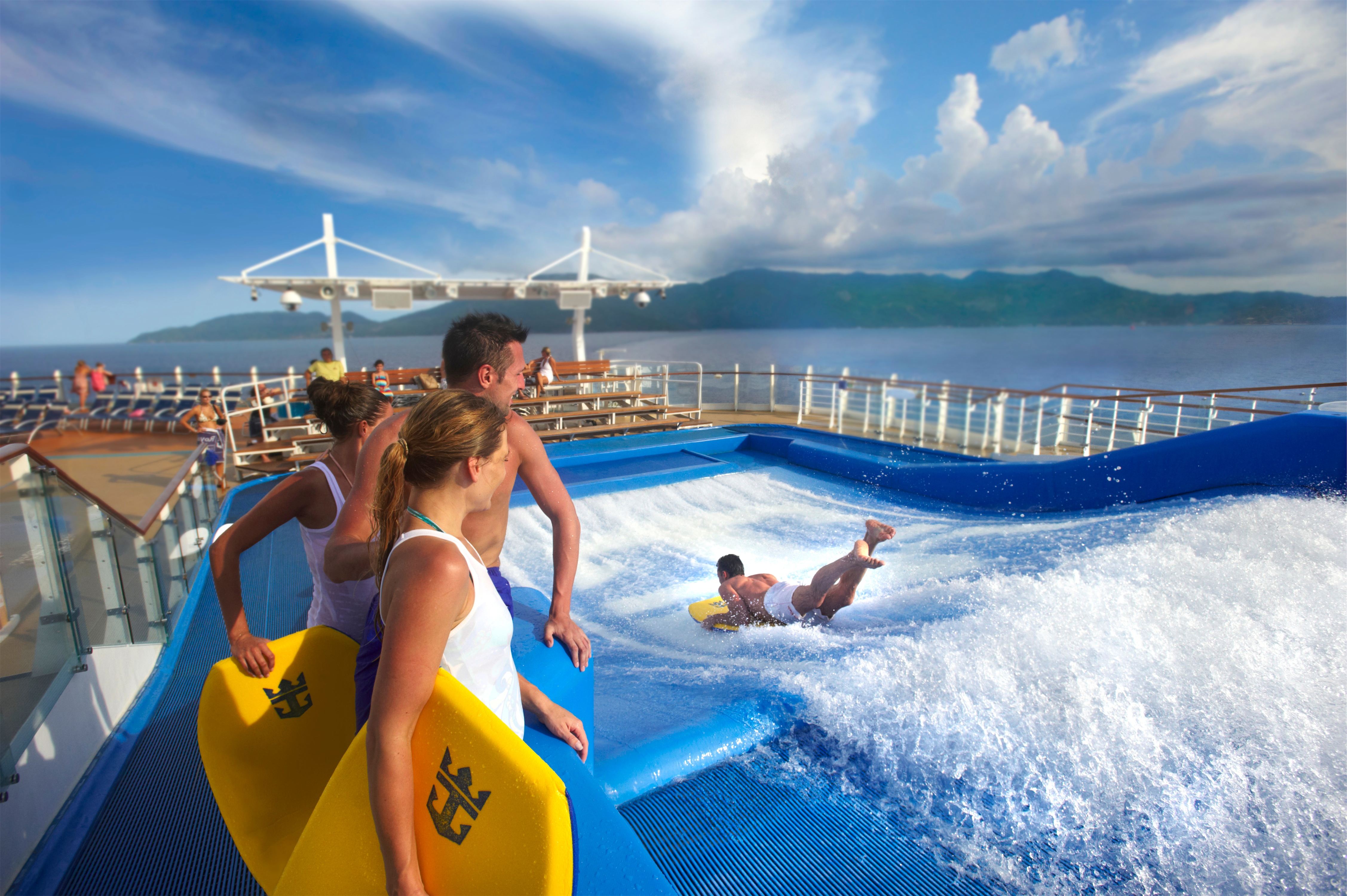 Royal Caribbean International Oasis of the Seas Exterior Flowrider DSC 4158.jpg