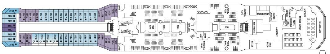 Celebrity Eclipse - Celebrity cruise ship eclipse deck plan