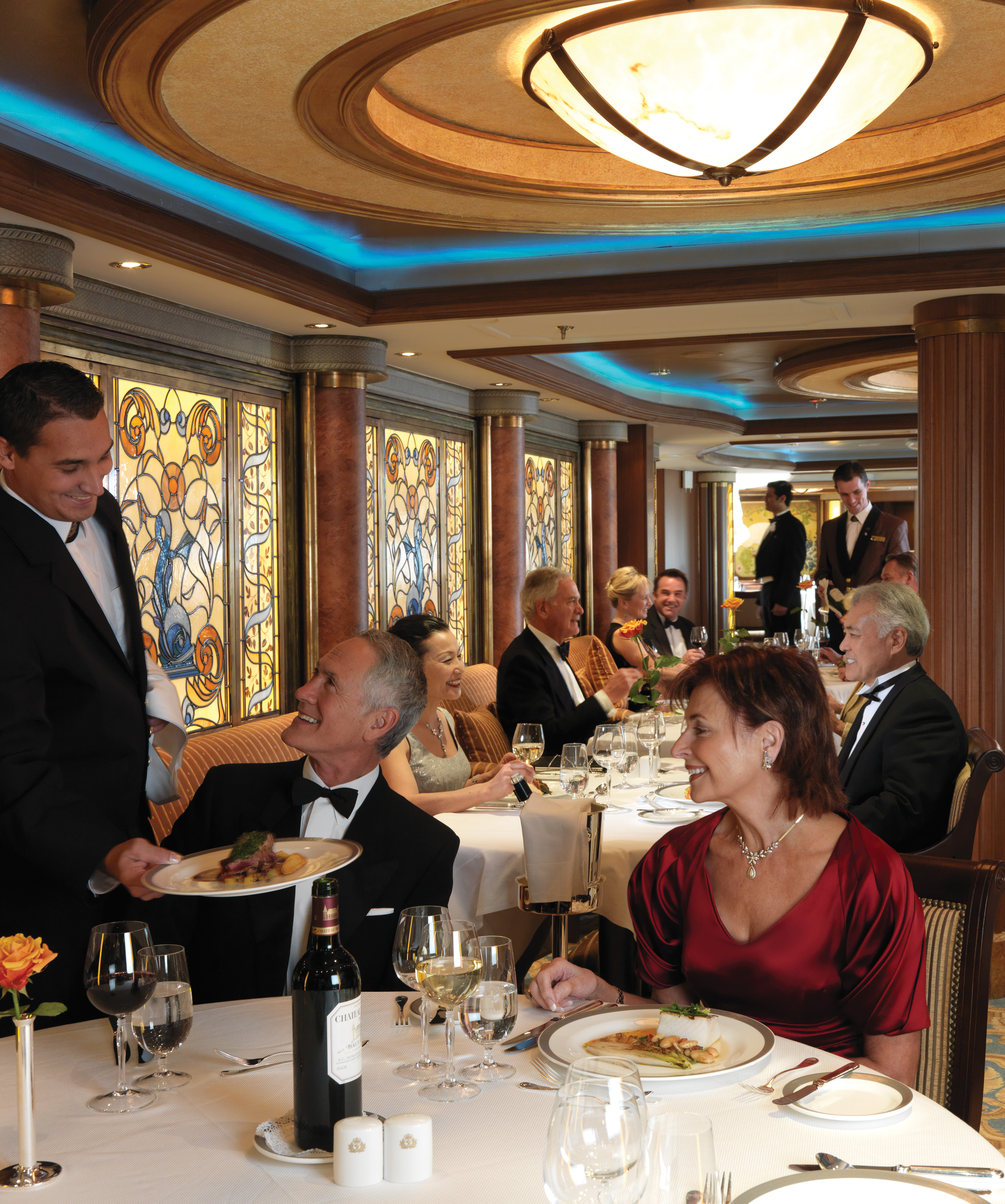 Cunard Line Queen Victoria Queens Grill Restaurant 1.JPG