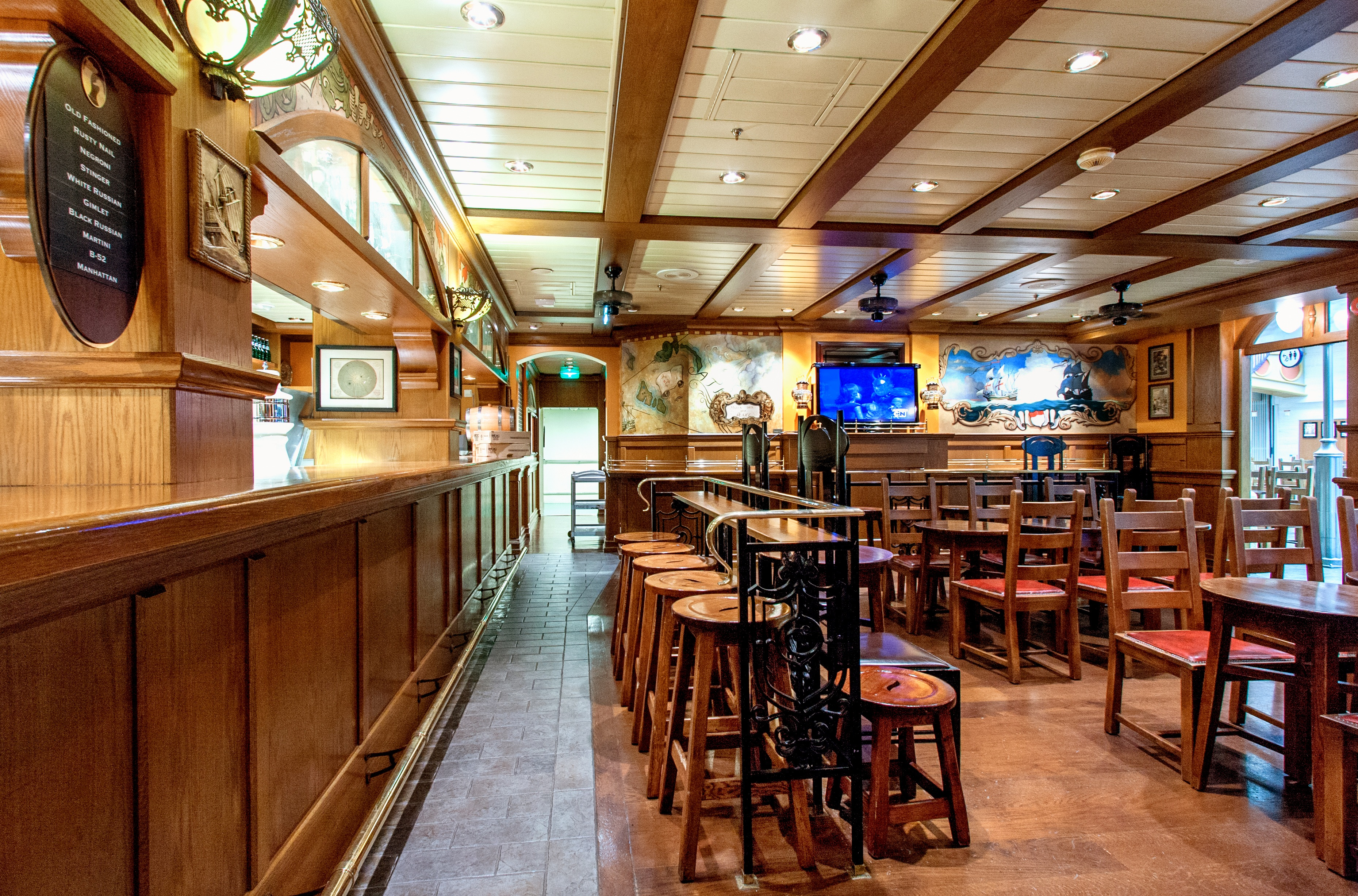 Royal Caribbean International Adventure of the Seas Interior Pub.jpg