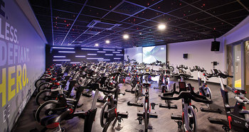 David lloyd spinning room