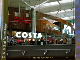 Costa westquay dining level