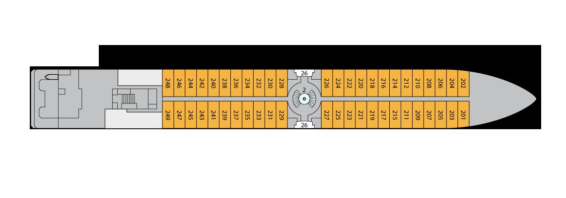 A-ROSA BELLA A-ROSA DONNA A-ROSA MIA A-ROSA RIVA Deck Plans Deck 2.png