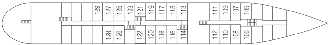 Saga River Cruises Rex Rheni Deck Plans Passenger Deck.jpg