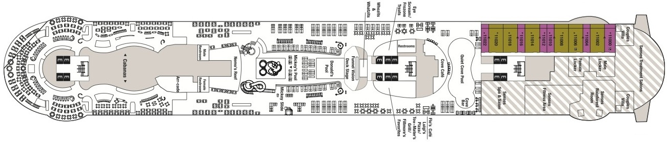 Disney Cruise Line Disney Dream & Disney Fantasy Deck plans Deck 11.jpg