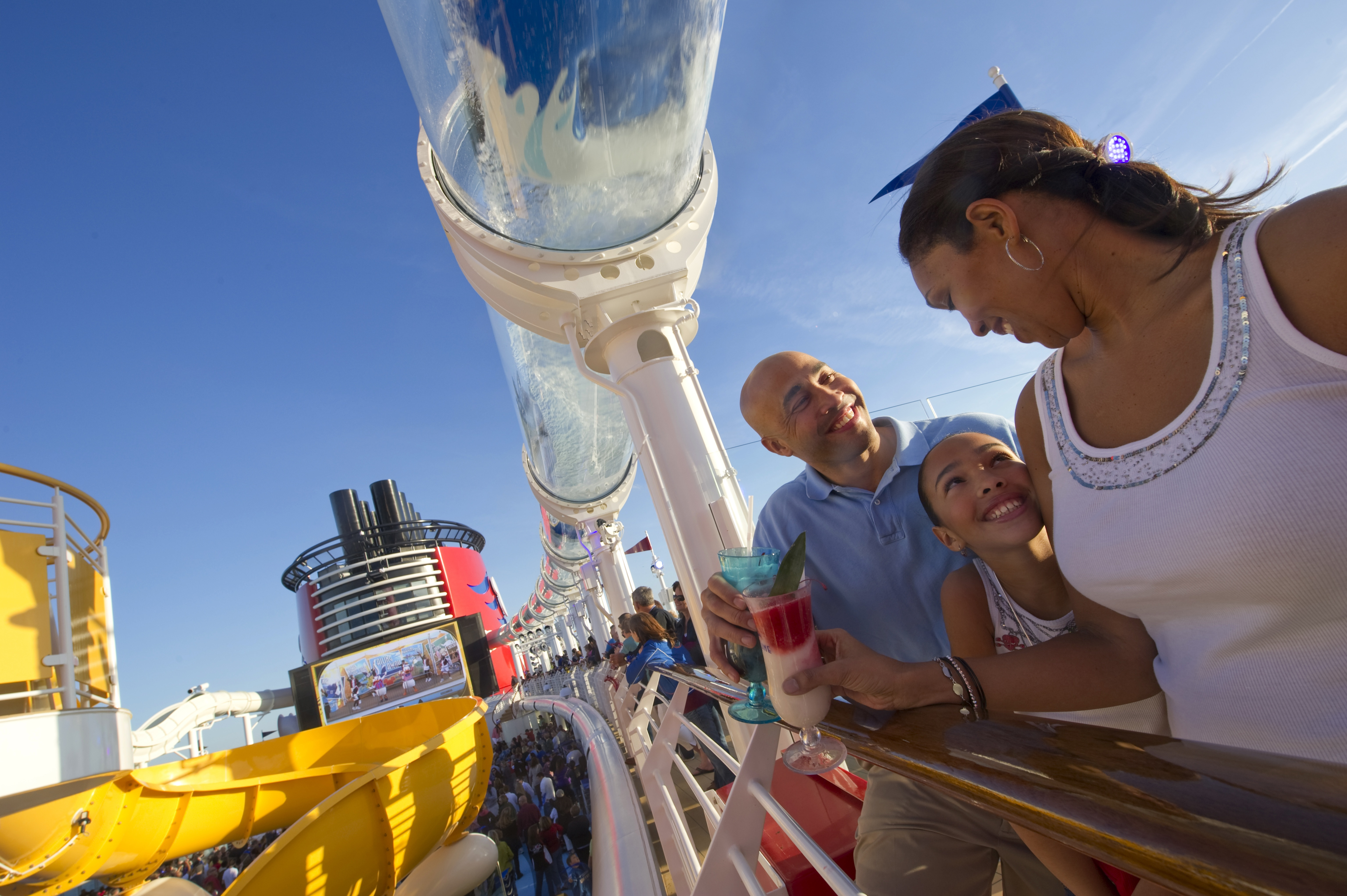 Disney Cruise Line Disney Dream Exterior Family on deck at the Aquaduck.jpg