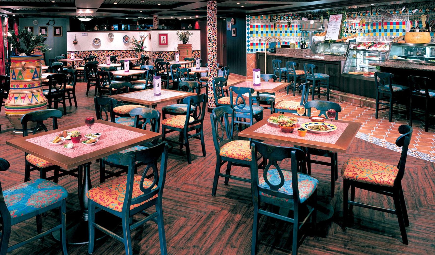 Norwegian Cruise Line Norwegian Sun Interior Las Ramblas Tapa Bar.jpg