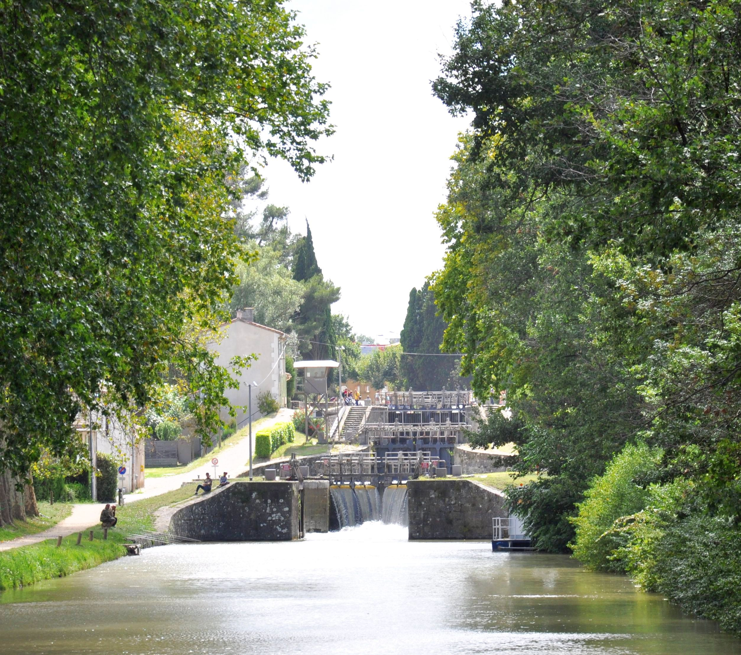 European Waterways Destinations A Lock Flight on the Canal du Midi.jpg