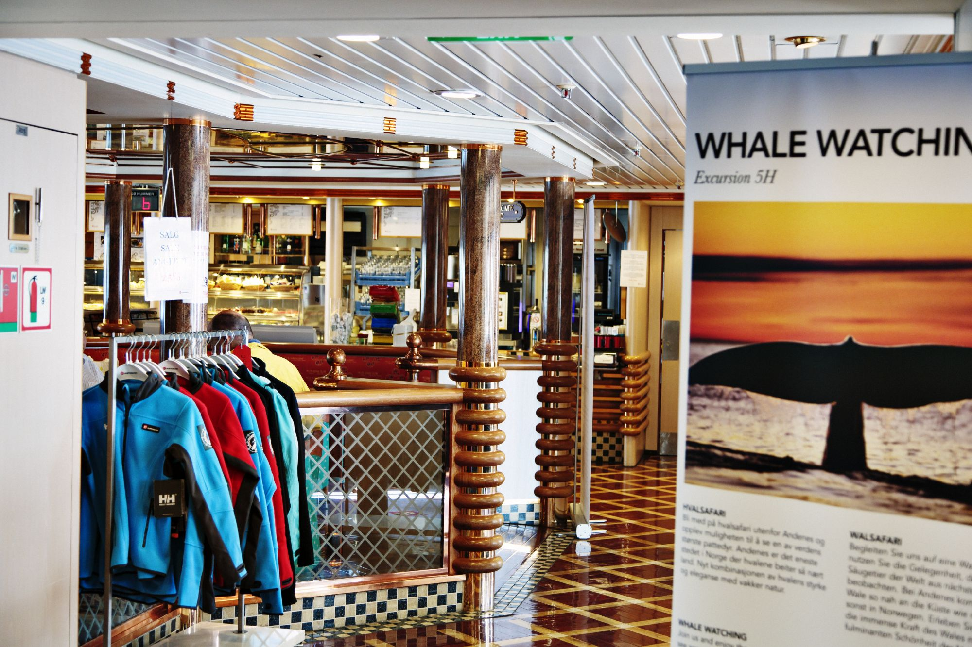 Hurtigruten Cruise Lines MS Richard With Interior Shops.jpg