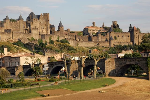 European Waterways Destinations The Medieval Fortified City of Carcassonne.jpg