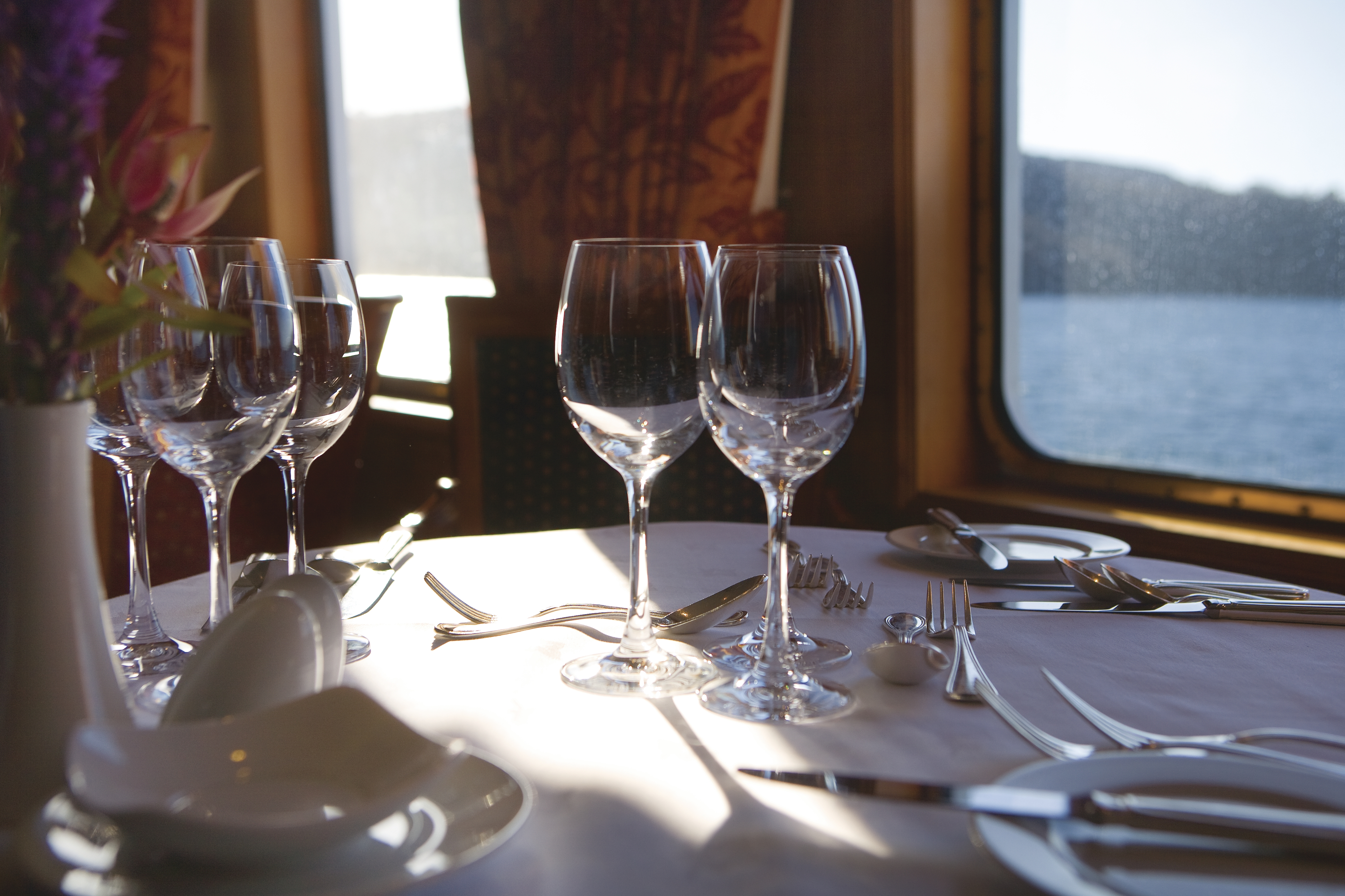 Hebridean Island Cruises Hebridean Princess Interior Columba Restaurant 7.jpg