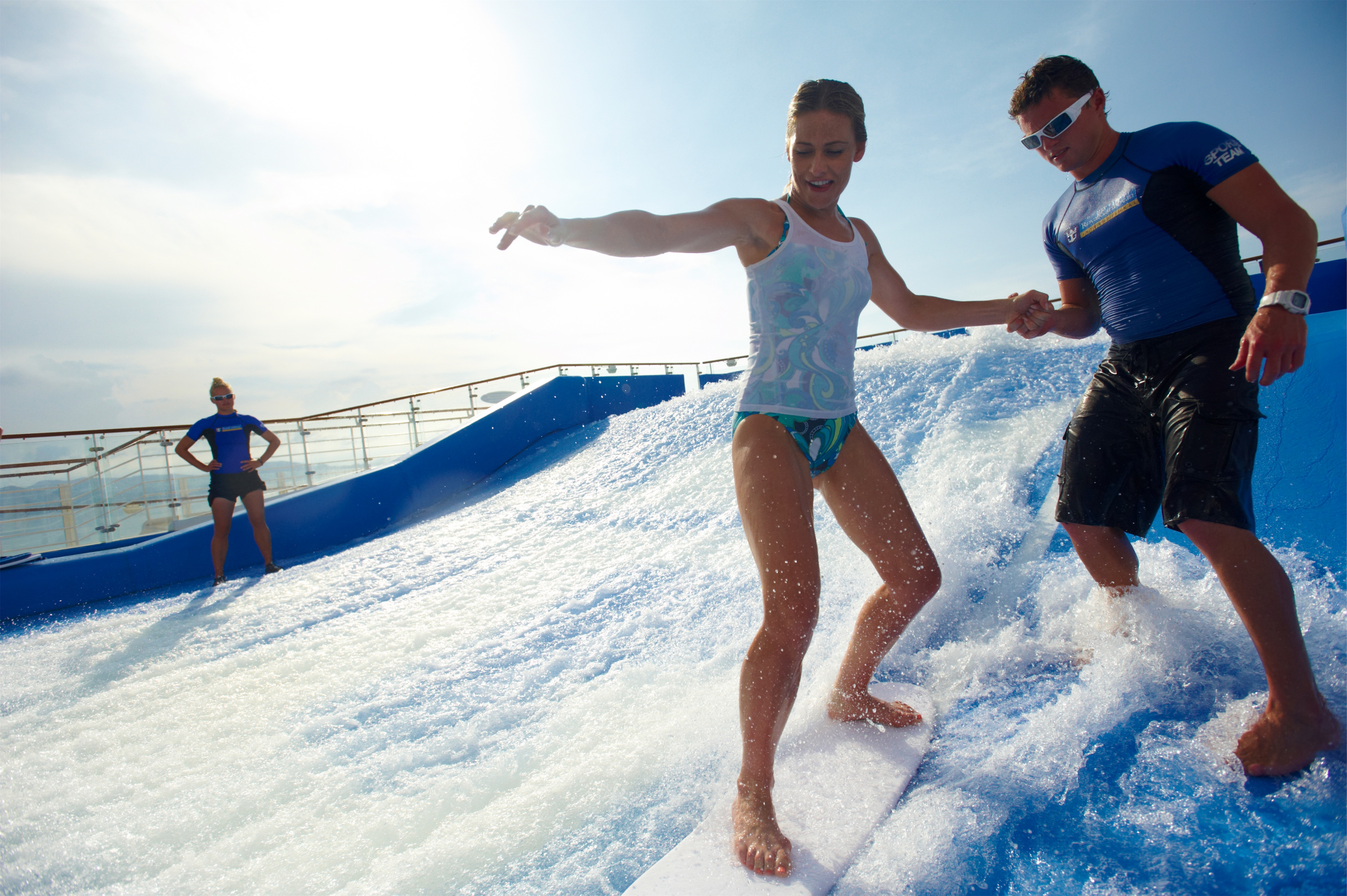 Royal Caribbean International Oasis of the Seas Exterior Flowrider DSC 4115.jpg