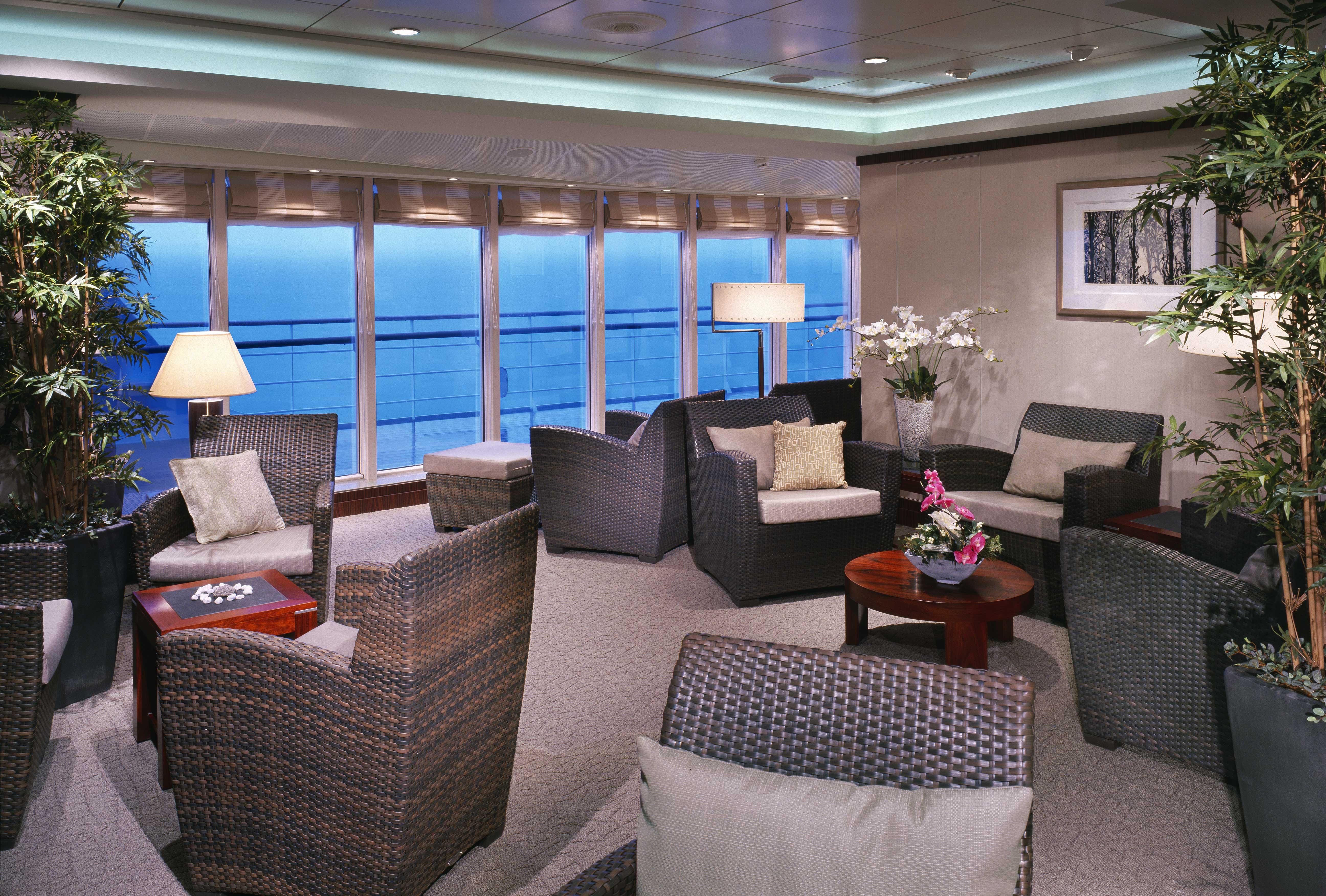 Cunard Line Queen Mary 2 Canyon Ranch Spa 2.JPG