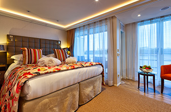 Suite AA & AB Staterooms