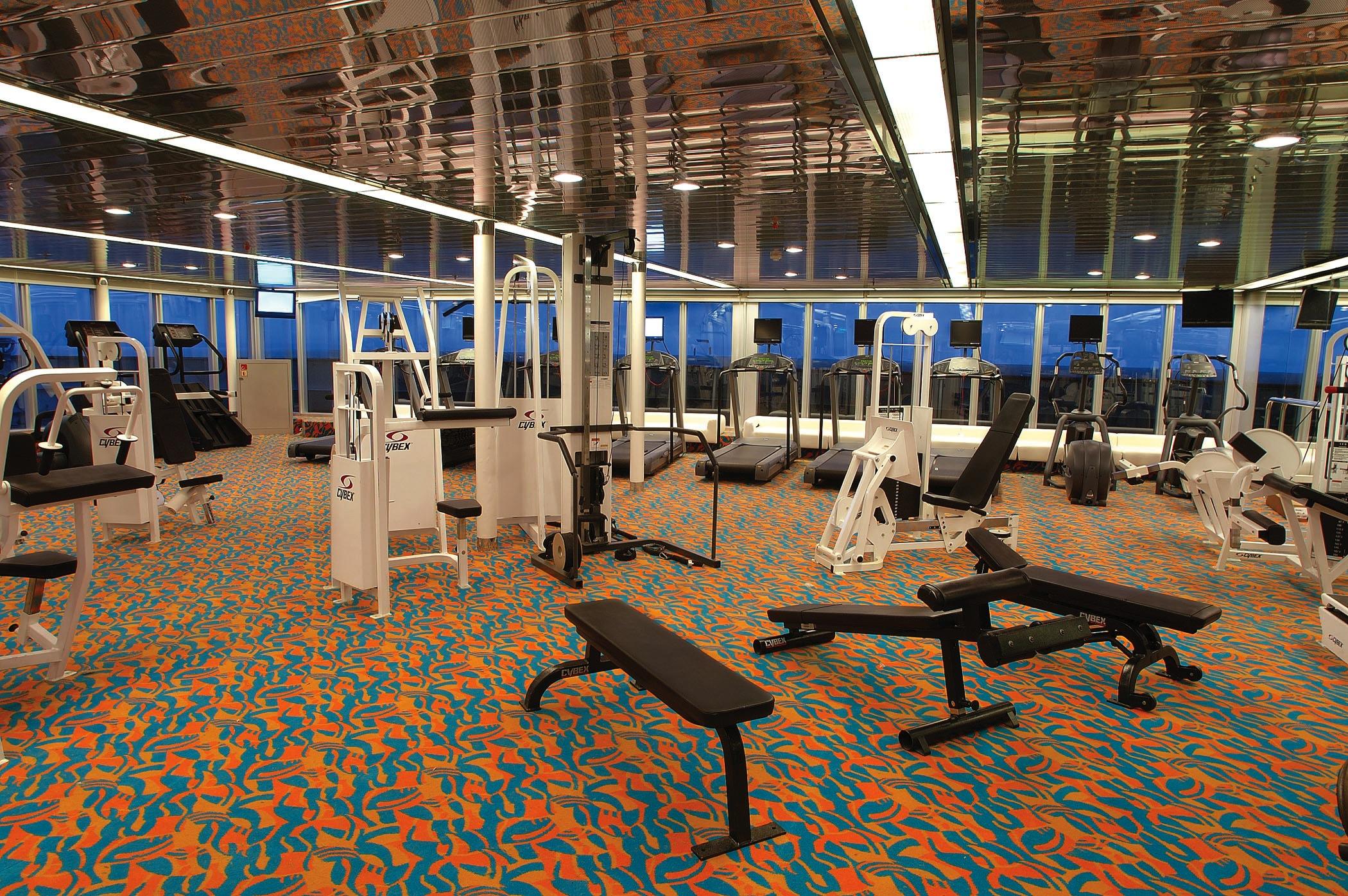 Holland America Line Vista-Class Interior Gym 1.jpg