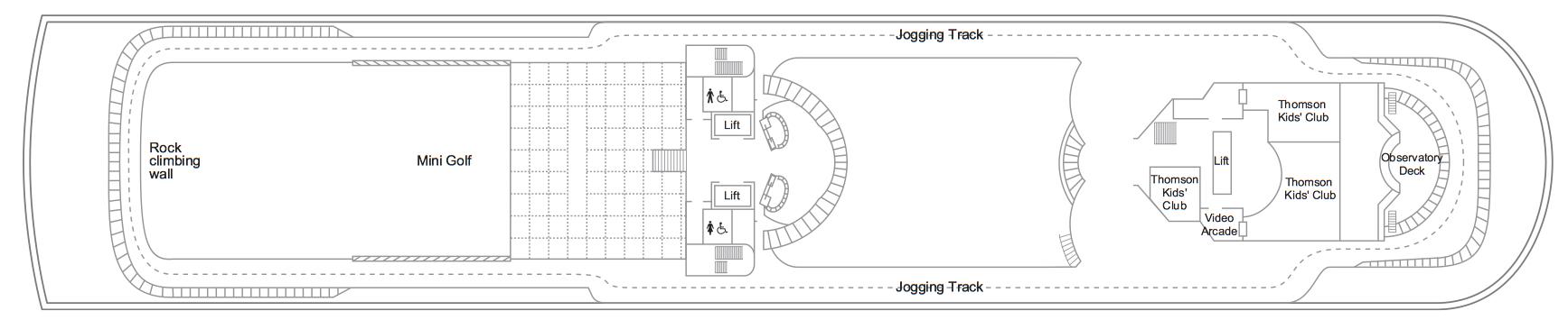 Thomson Cruise Thomson Discovery Deck Plans Deck 10.jpg