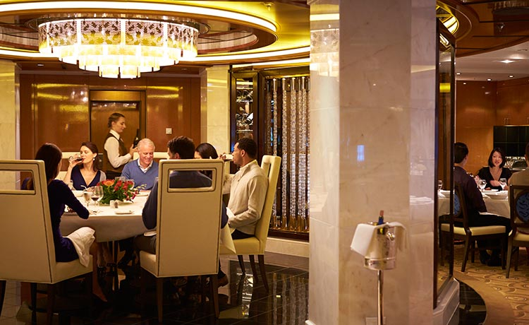 Princess Cruises Royal Class Interior traditional dining room.jpg