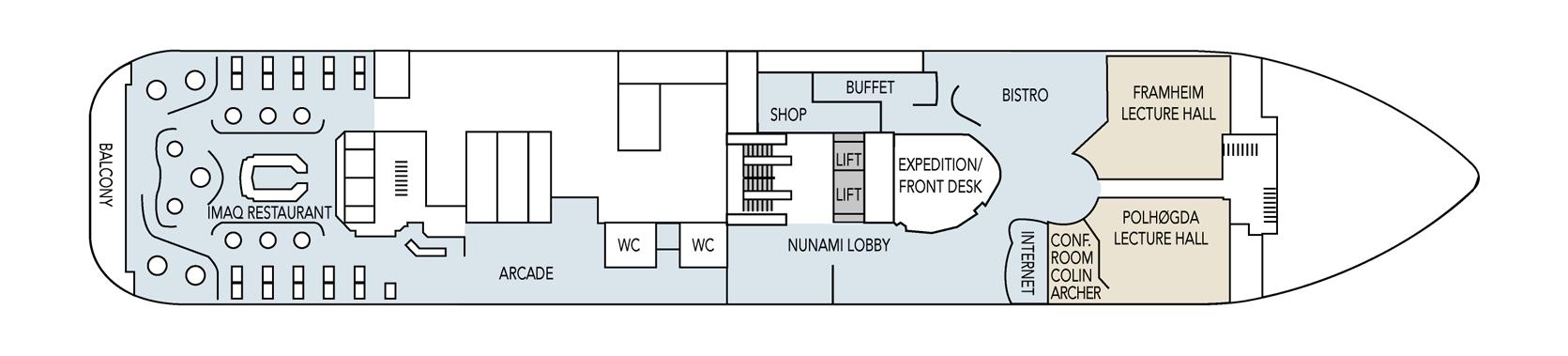 Hurtigruten MS Fram Deck Plans Deck 4.png