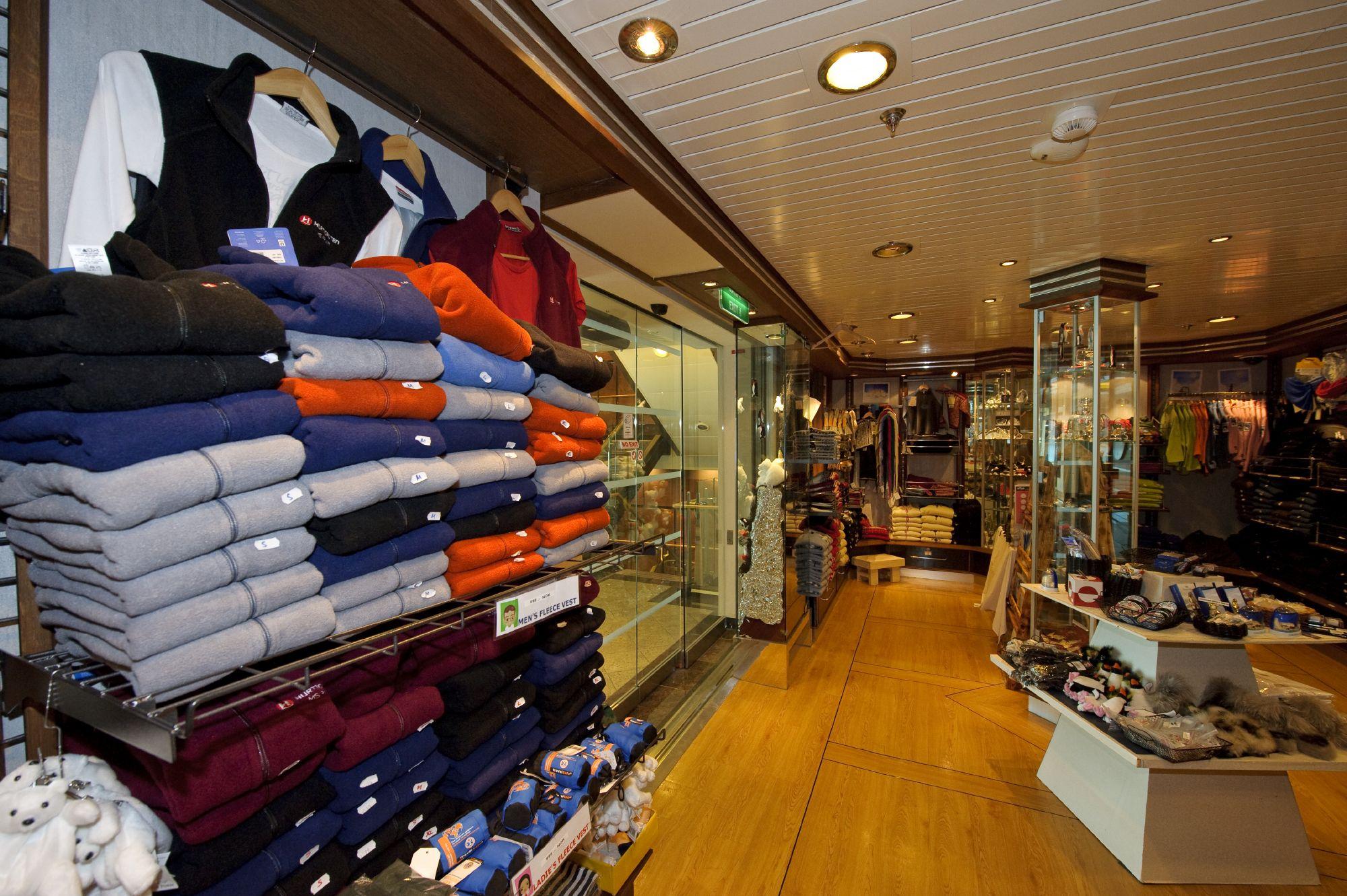 Hurtigruten Cruise Lines MS Fram Interior Shopping 2.jpg