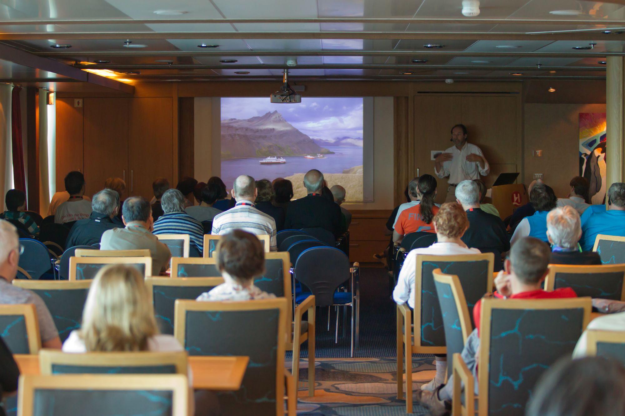 Hurtigruten Cruise Lines MS Fram Interior Lecture 2.jpg