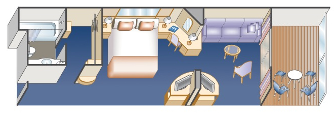 Princess Cruises Ruby Princess Floor Plans Mini Suite with Balcony.jpg