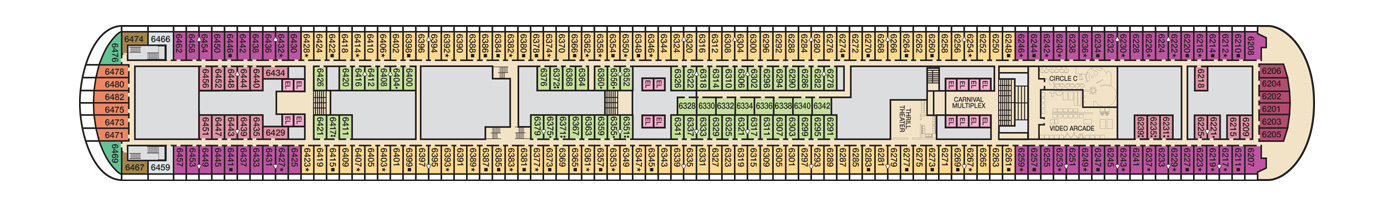 Carnival Cruise Lines Carnival Vista Deck Plans Deck 6.jpg