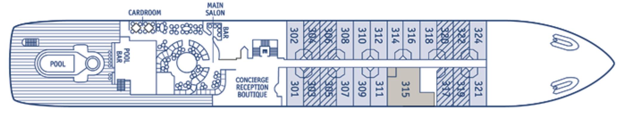 SeaDream Yacht Club Deck Plans Deck 3.jpg