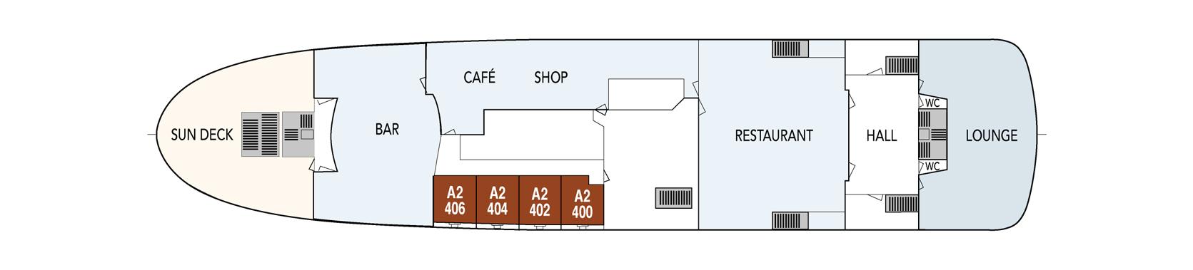 Hurtigruten MS Lofoten Deck Plans Deck Saloon.png