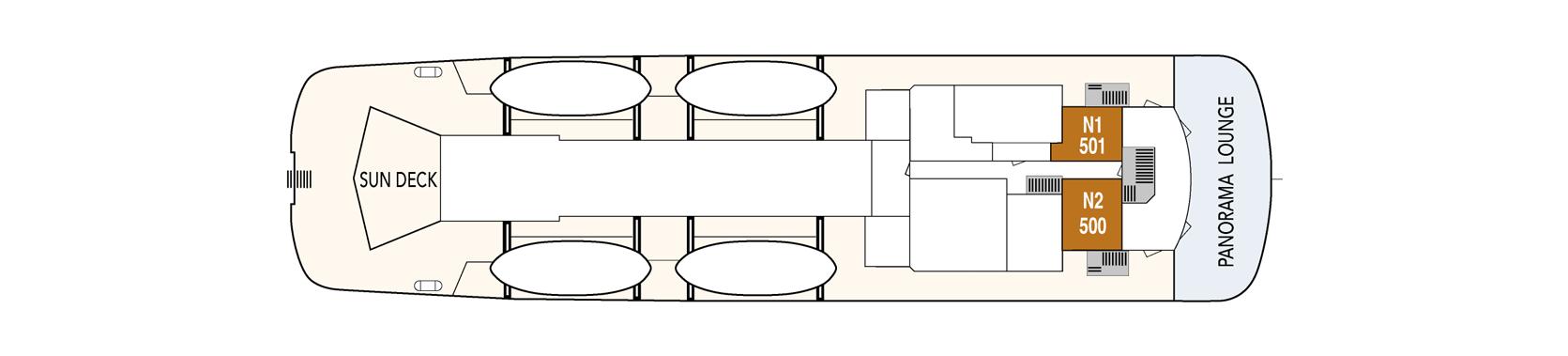 Hurtigruten MS Lofoten Deck Plans Deck Boat.png