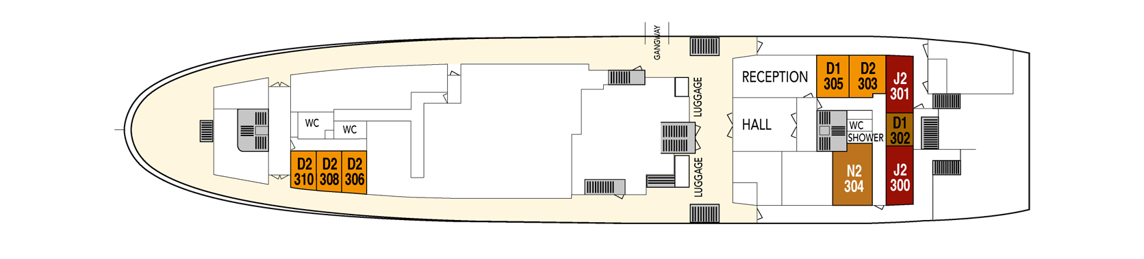 Hurtigruten MS Lofoten Deck Plans Deck 7.png