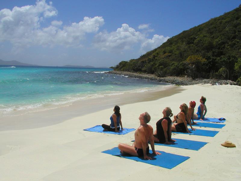 SeaDream Yacht Club Exterior Yoga on the Beach.jpg
