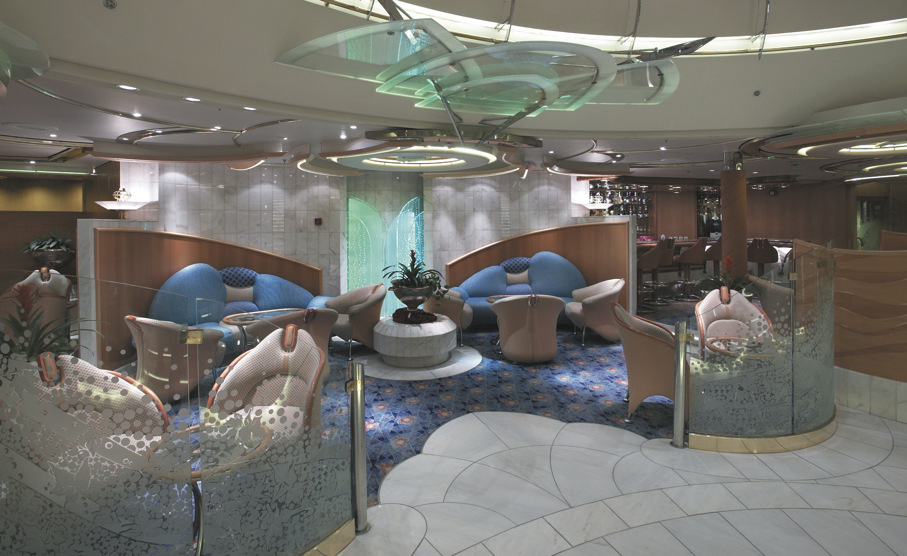 Royal Caribbean International Enchantment of the Seas Interior Champagne Lounge.jpeg