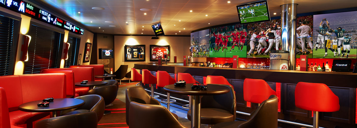 Carnival Cruise Lines Carnival Conquest Interior EA Sports Bar.jpg