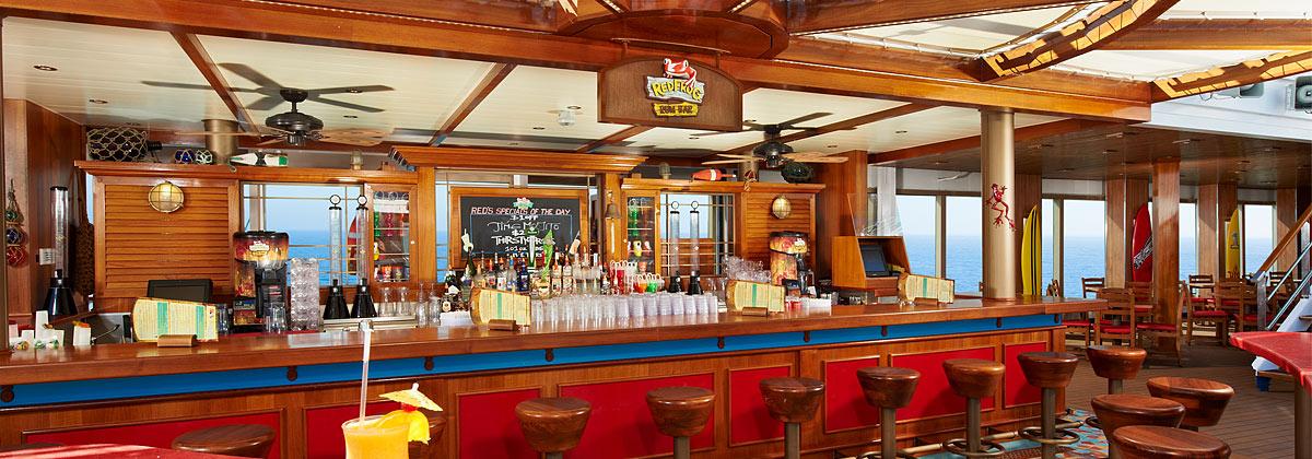 Carnival Cruise Lines Carnival Conquest Interior Redfrog Rum Bar.jpg