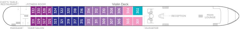 Violin Deck